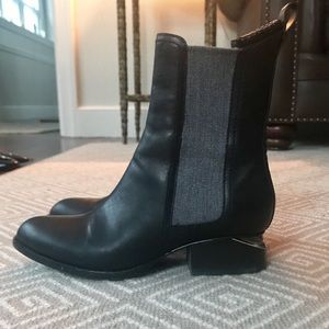 Alexander Wang Boots, black leather